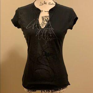 💥4/$20💥 Calvin Klein split neck T-shirt